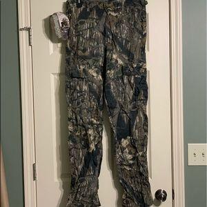 Mossy Oak Hunting Camo Cargo Men's Pants Medium